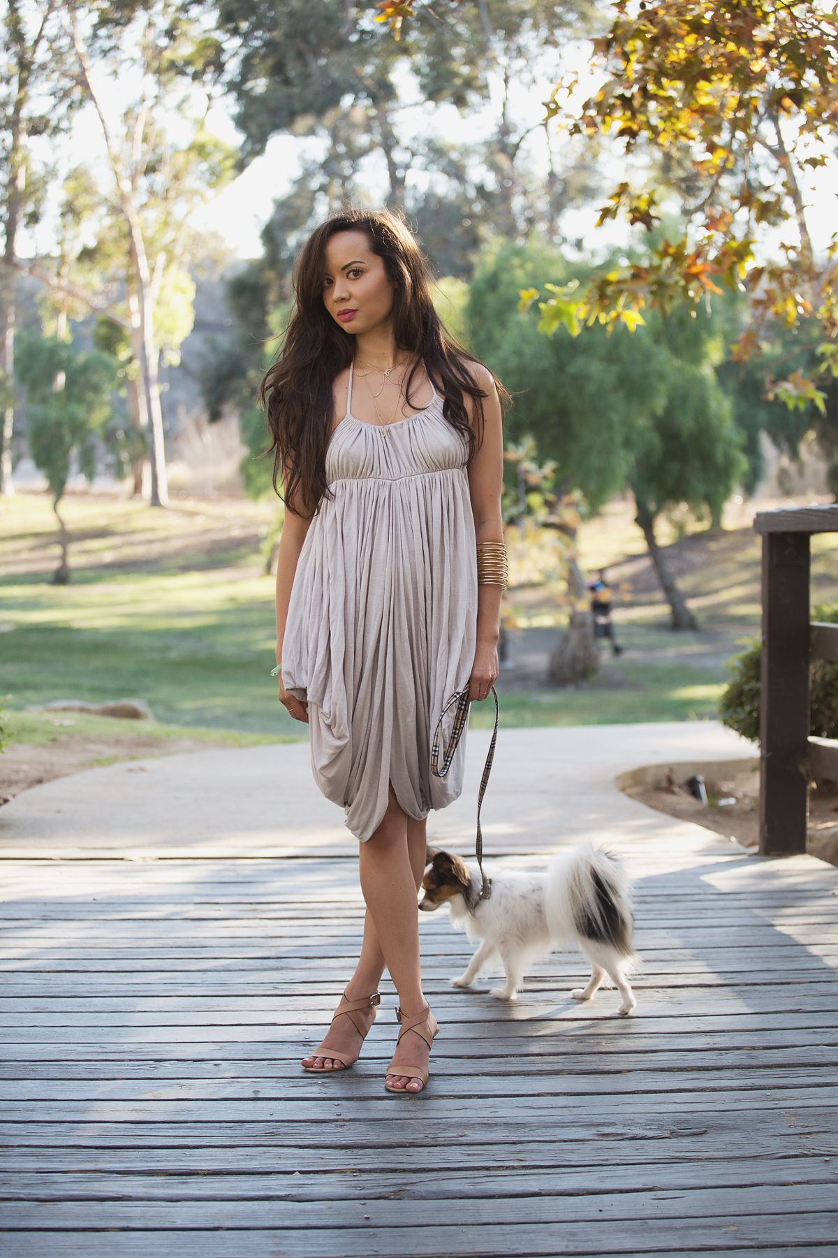 los angeles style blogs, fashion blog, la style, la model, kenneth hahn park, michelle mason dress, the la survival guide, la survival guide, papillon, michael kors heels, kelly wearstler jewelry, jewelmint necklace