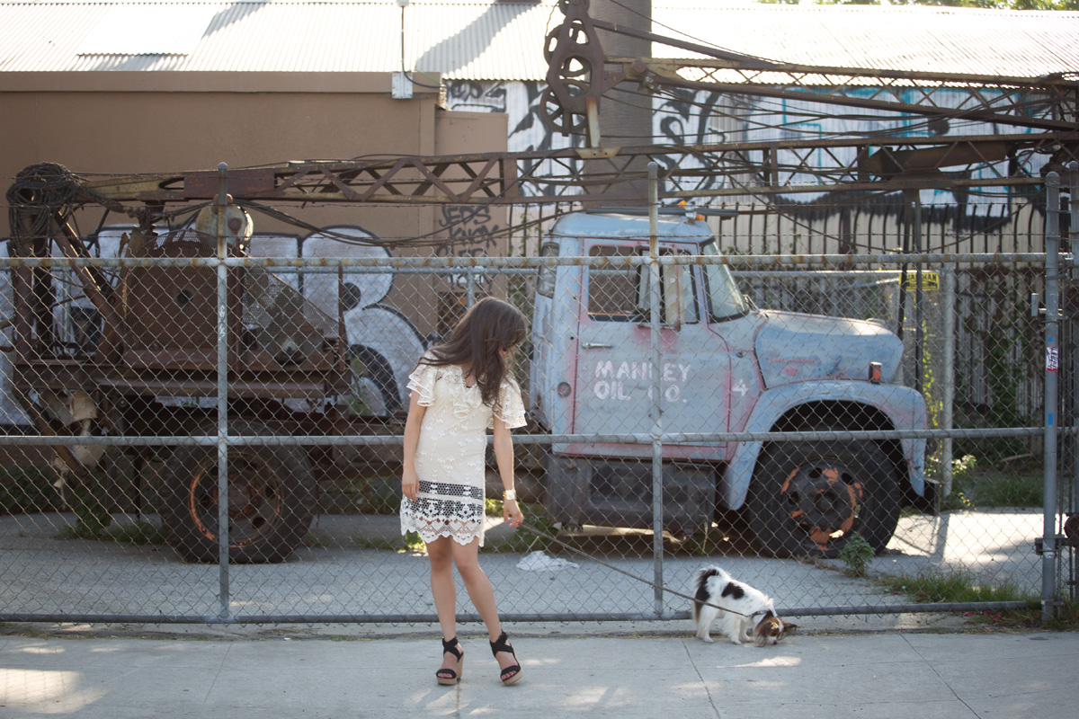 model lace dress, model eyelet dress, womens lace ruffle dress, womens lace eyelet dress, womens eyelet ruffle dress, stuart weitzman wedges, stuart weitzman alex wedges, stuart weitzman sandals, crochet sandals, crochet wedges, crochet heel wedges, model vintage truck, model old truck, 6th street bridge, 6th street bridge los angeles, 6th street bridge downtown la, 6th street bridge la, 6th street bridge downtown los angeles, 6th street bridge dtla, michele lobosco, photographer michele lobosco, how to write a fashion blog, starting a blog, how to write a blog, starting a fashion blog, how to start a blog, how to start a fashion blog, tips for writing blog, tips for fashion blog, building blog, building fashion blog, street style, model street style, downtown los angeles fashion, downtown fashion, los angeles fashion, dtla fashion, dtla style, downtown los angeles style, downtown style, bodychain, gold bodychain, body chain, gold body chain, street style, street style la, street style los angeles, dtla, ootd, perfect blowout, model eyelashes, model perfect lips, artelier globe cuff, artelier map cuff, bodychain, body chain, body chain dress, bodychain dress, gold bodychain, gold body chain, dtla photoshoot, dtla photo shoot, downtown la photoshoot, downtown la photo shoot, model dtla, model downtown la, model downtown los angeles, arts district, arts district la, arts district los angeles, artists district, artists district la, artists district los angeles, 6th street bridge la, 6th street bridge los angeles, drybar, blushington, drybar cosmo blowout, drybar model, drybar blowout, blushington makeup, rms beloved, kevyn aucoin matte lip color, kevyn aucoin timeless, kevyn aucoin matte lipstick, off duty model style, los angeles style, camille newbern, papillon, the la survival guide, la survival guide, thelasurvivalguide, lasurvivalguide, eurasian models, eurasian actresses, los angeles fashion blogs, los angeles style blogs, shopping la, shopping los angeles, modeling la, modeling los angeles, long hair blowout, smile model, modeling smile, dog smile, papillon, papillon dog, los angeles photo shoot, model on dog walk, dog and model, crochet ruffle dress
