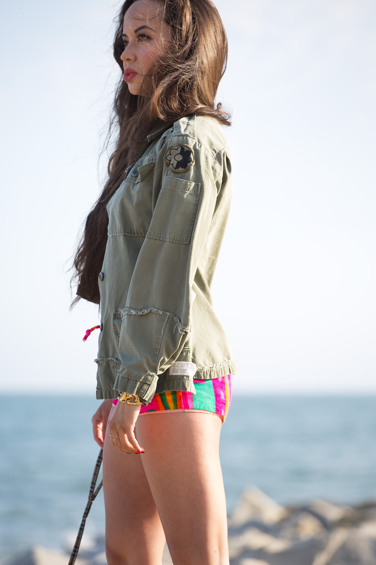 best festival style, best music festival style, coachella, coachella 2016, coachella style, coachella outfits, coachella model style, coachella fashion, festival outfits, music festival outfits, festival chic, model festival style, model music festival, womens vintage army jacket, womens vintage army coat, womens cropped army jacket, womens army jacket, womens army coat, lna white shirt, lna deep v tee, lna white deep v tee, deep vneck white, vintage bright hot pants, vintage bright short shorts, bright hot pants, bright short shorts, model vintage hot pants, model hot pants, model short shorts, anine bing booties, anine bing tan booties, anine bing fringe, anine bing booties, anine bing booties, fringe booties, fringe tan booties, fringe flat booties, fringe flat tan booties, model dog beach, eurasian models, eurasian model, will rogers beach, will rogers beach photo shoot, will rogers beach modeling, modeling beach, model beach, model dog beach, los angeles beaches, best la beach, best la beaches, best los angeles beach, best los angeles beaches, hair beach, michele lobosco, photographer michele lobosco, street style, model street style, beach los angeles fashion, beach fashion, los angeles fashion, bodychain, gold bodychain, body chain, gold body chain, street style, street style la, street style los angeles, ootd, perfect blowout, model eyelashes, model perfect lips, artelier globe cuff, artelier map cuff, bodychain, body chain, gold bodychain, gold body chain, drybar, blushington, drybar cosmo blowout, drybar model, drybar blowout, blushington makeup, off duty model style, los angeles style, camille newbern, papillon, the la survival guide, la survival guide, thelasurvivalguide, lasurvivalguide, eurasian models, eurasian actresses, los angeles fashion blogs, los angeles style blogs, shopping la, shopping los angeles, modeling la, modeling los angeles, long hair blowout, smile model, modeling smile, dog smile, papillon, papillon dog, los angeles photo shoot, model on dog walk, dog and model, model red lips, red lips, perfect red lipstick