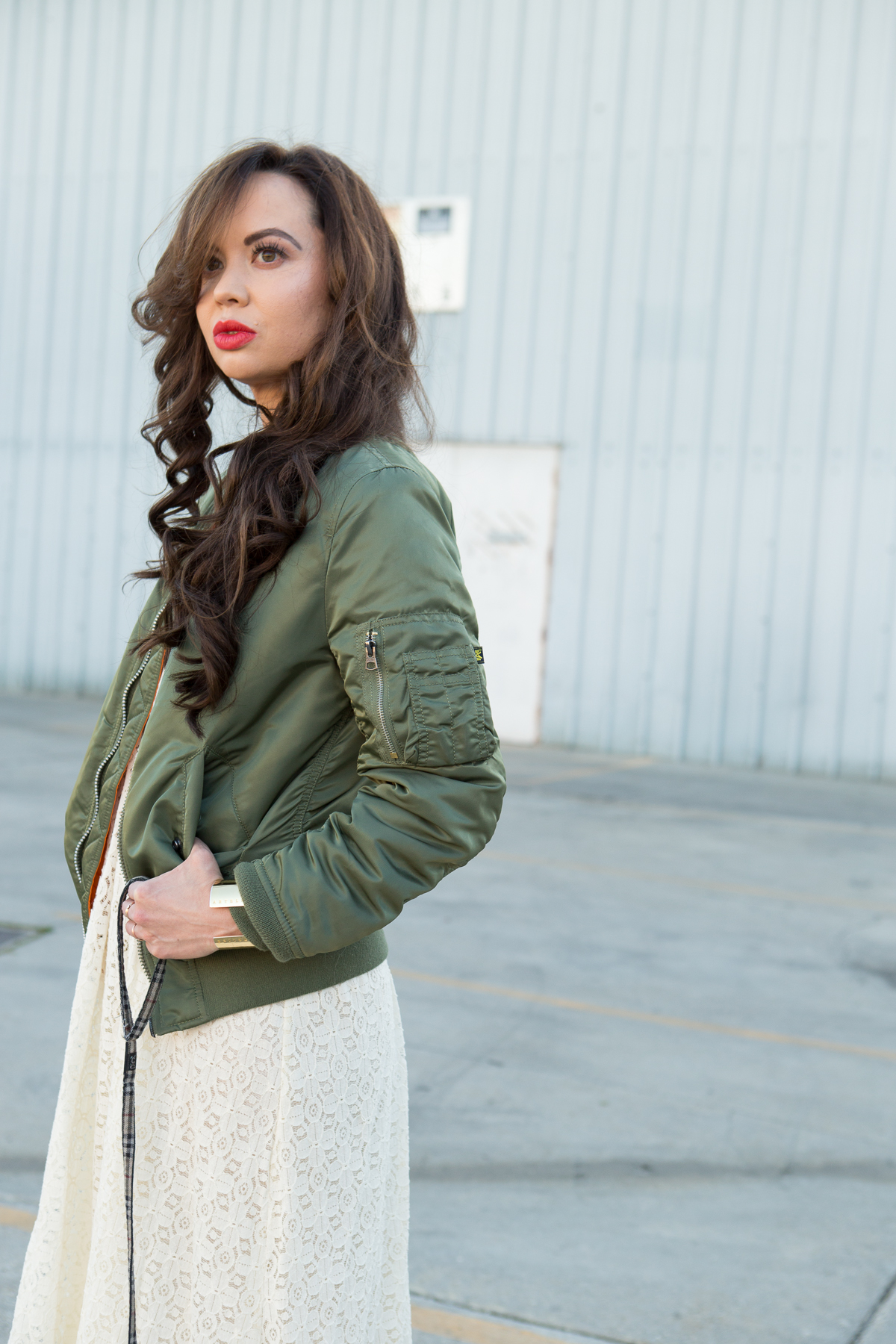 alpha industries women's bomber