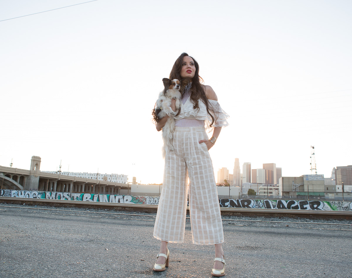 Vivian Chan: Lucky Duck by popular Los Angeles fashion blogger The LA Survival Guide
